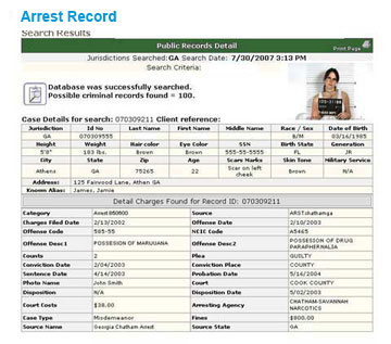 how to check criminal record online